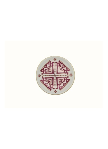 Porland Porland Arabesque Desen6 Mini Kase 10Cm Renkli